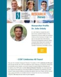 CCRF Research News #01 (29-9-2016) - Research Bulletin - CCRF - CCA