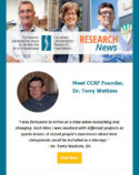 CCRF Research News #04 (21-04-2017) - Research Bulletin - CCRF - CCA