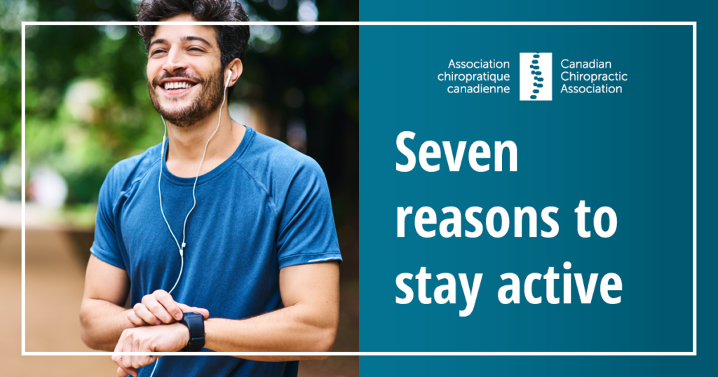 7 reasons to stay active
