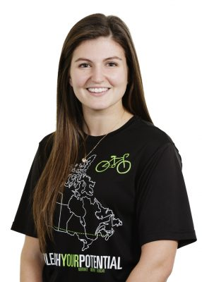Headshot of Sefrah Daviduck wearing Unleash Your Potential shirt