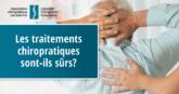 Sécurité des traitements chiropratiques - CCA