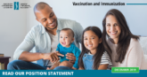 An updated vaccination position statement in the best interests of patients - CCA